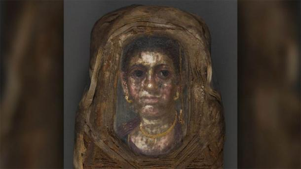 The little girl mummy portrait is obviously not a little girl, and this is the mystery that still needs to be solved. (Stuart R. Stock)