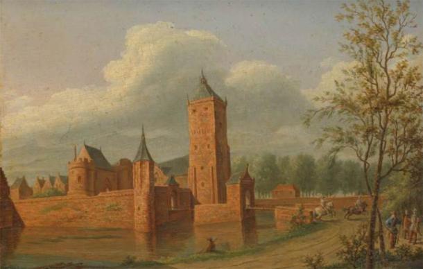 Batestein Castle. (Public Domain)