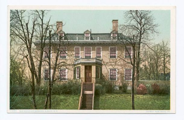 The Schuyler family home, where Elizabeth was married to Alexander Hamilton. Located at 32 Catherine Street in Albany, New York, it is now a National Historic Landmark. (Public domain)