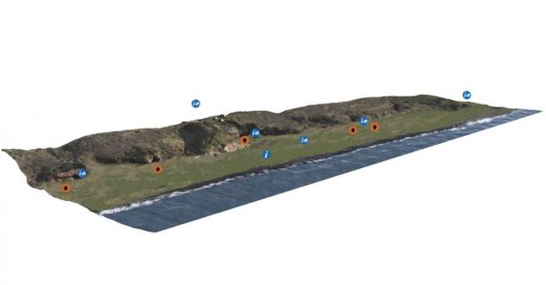 Since 2013, the East Wemyss community has been applying digital technology, such as laser scanning and aerial photography, to create 3D models of the Wemyss Caves, thanks to funding from the Heritage Lottery Fund, Historic Environment Scotland and Fife Council. (Wemyss Caves 4D / The Scape Trust)