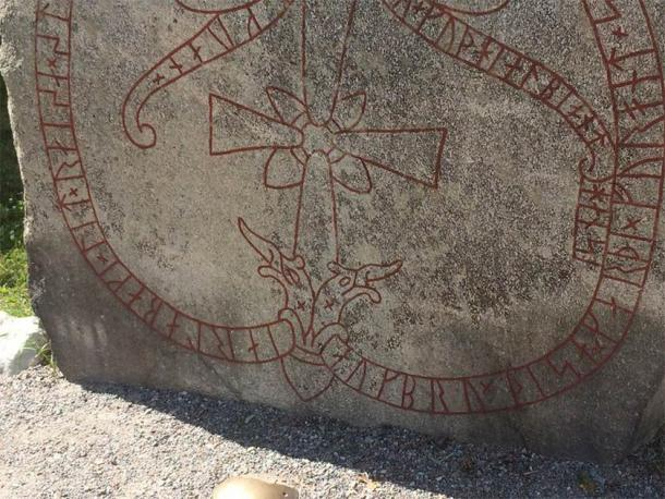 Detail of one of the many runes at Runriket (Oliver, K / CC BY-NC-ND 2.0)