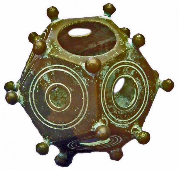 "A rare hollow copper Roman dodecahedron like this one was also found in the ""thief's"" home in Belgium. (Lokilech / CC BY-SA 3.0)"