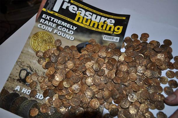The story is featured in November's Treasure Hunting Magazine. (Treasure Hunting Magazine)