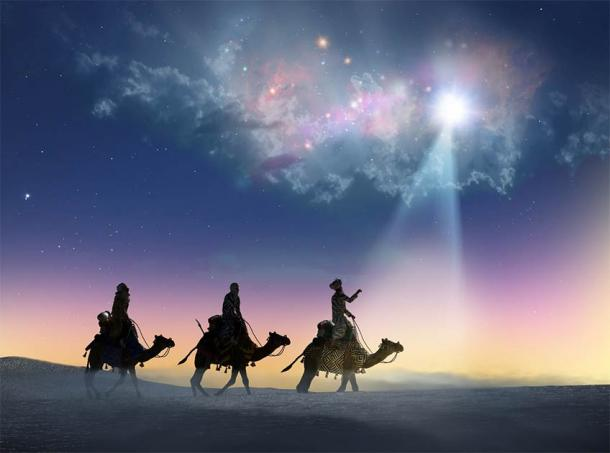 The tradition of chalking the door in Christianity refers to the Biblical Magi or the three wise men or the three kings: Caspar, Melchior, and Balthasar. (denissimonov / Adobe Stock)