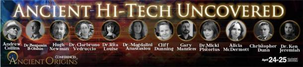 Ancient Origins' Ancient Hi-Tech Uncovered April 2021 conference