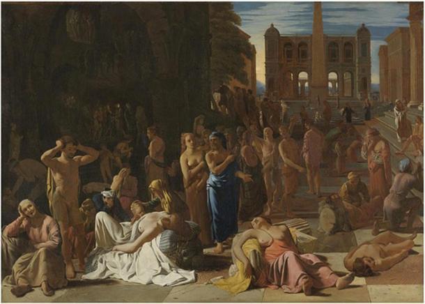 Plague in an Ancient City by Michiel Sweerts (1652) (Public Domain)