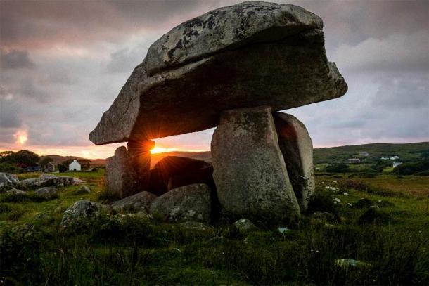Kilclooney More Dolmen in Ireland. (Yggdrasill /Adobe Stock)