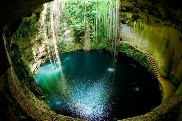 The Sacred Cenote is considered one of the largest repositories of offerings in the Americas. (Subbotina Anna/Adobe Stock)