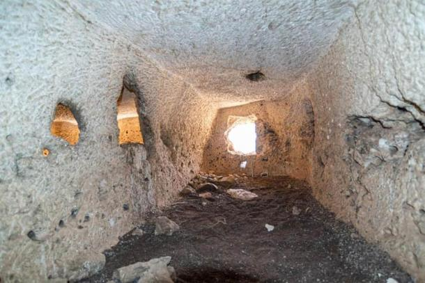 The newly found Egyptian chambers are not decorated. (Ministry of Tourism and Antiquities)