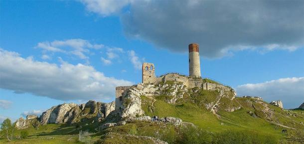 The panorama of Olsztyn Castle in modern times. (Ziijon / CC BY 3.0)