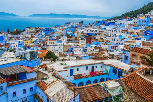 A closer look at Chefchaouen, Morocco's Blue Pearl. (Mariana Ianovska / Adobe Stock)