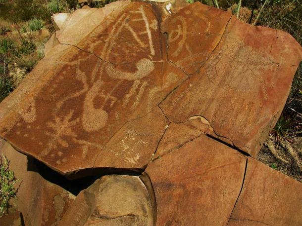 Researchers are still working to find out who created this rock art and the reasons why. (Biologo Jorge Ayala/CC BY SA 4.0)
