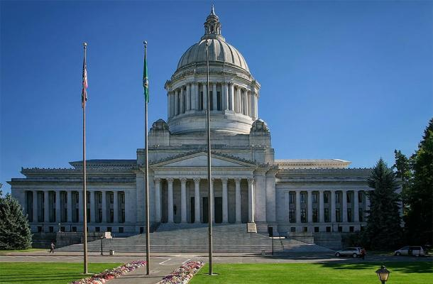 The Washington State Capitol , the location of the spiritual fight. (Senapa / CC BY-SA 3.0)