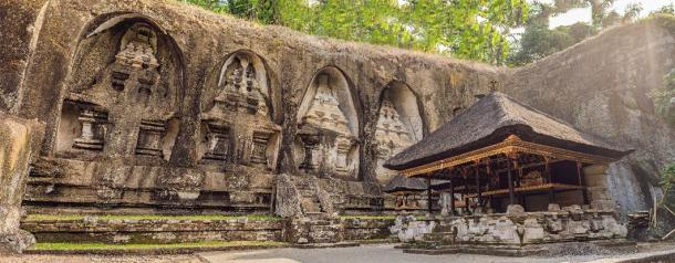 Gunung Kawi. Ancient carved in the stone temple with royal Udayana tombs. Bali, Indonesia ( galitskaya /Adobe Stock)