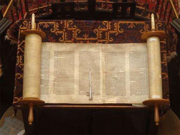 The Torah, the Jewish Holy Book. (Lawrie Cate/CC BY 2.0)