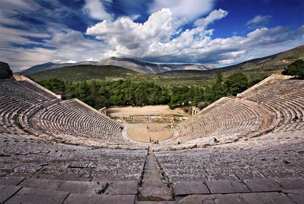 Asclepian centers flourished in the ancient world, and their theaters attracted up to 14,000 people at a time. What was the allure? In the image, the ancient theater of Epidaurus in Greece is located to the southeast end of the sanctuary dedicated to the ancient Greek god of medicine, Asclepius. (Iraklis Milas / Adobe Stock)