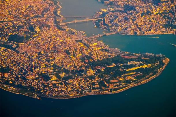 The Golden Horn as it looks today in the city now known as Istanbul. This rich trade waterway is still highly strategic for the area and well protected, even without Constantinople's great chain barrier. (Dudarev Mikhail / Adobe Stock)