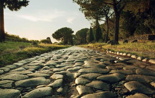 An ancient Roman road. (Alex /Adobe Stock)