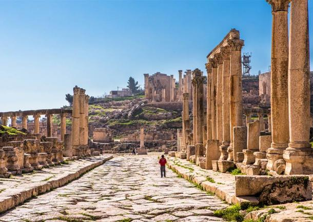 In the 2nd century AD, the Jordanian city of Jerash was formally incorporated into the Roman Empire. (EyesTravelling / Adobe Stock)