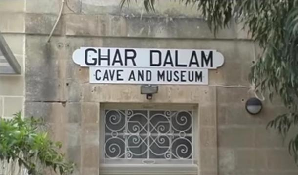 The entrance to the Ghar Dalam cave and museum in Malta. (Provided by author)