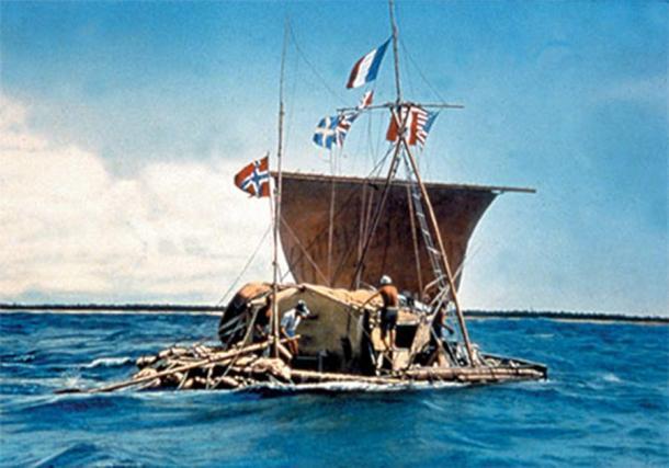 The Kon-Tiki Expedition Across the Pacific Ocean by balsa wood raft (1947). (cesar harada/CC BY NC SA 2.0)