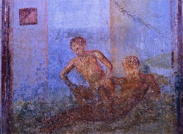 Graveyard prostitutes operated within the cemeteries and underground tombs of ancient Rome. (Public domain)