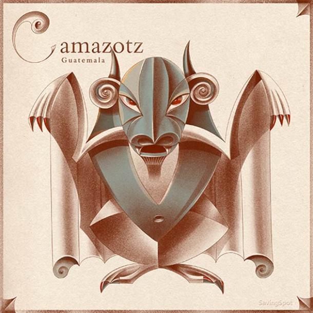 Camazotz topped the Guatemala cryptid list. (Laimute Varkalaite/SavingSpot)