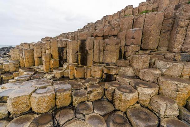 The basalt columns of the Giant's Causeway. Credit: Ioannis Syrigos