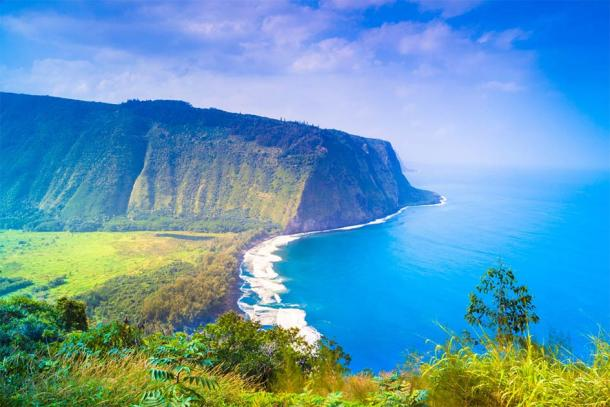 Many myths and legends of deities, demons, demi-gods, and despots emanate from the sacred Waipio Valley in Hawaii. Source: georgeburba / Adobe Stock