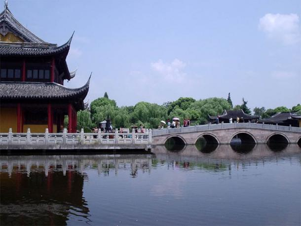 Zhouzhuang's popular Chengxu Taoist Temple(Paul Louis / CC BY-SA 3.0)