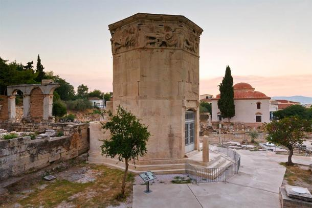 Remains of the Roman Agora and Tower of Winds in Athens, Greece. (milangonda / Adobe Stock)