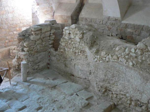 Image shows the 1st-century house which Ken Dark argues was the childhood home of Jesus Christ. (Ken Dark)
