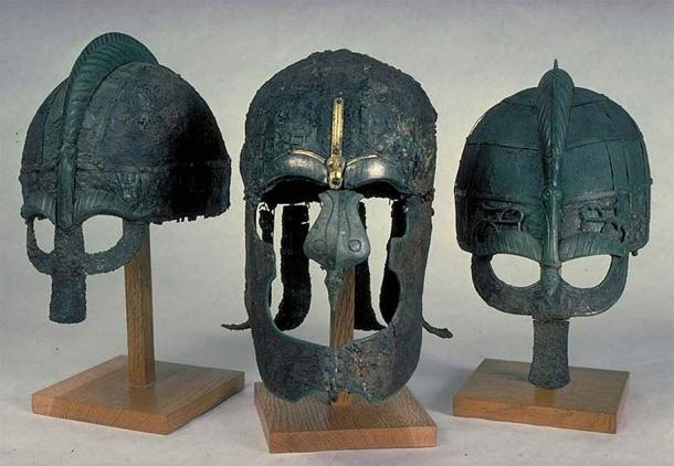 Vendel helmets were made of iron and have been discovered in various Vendel period cemeteries. (Statens Historiska Museum / CC BY 2.5)