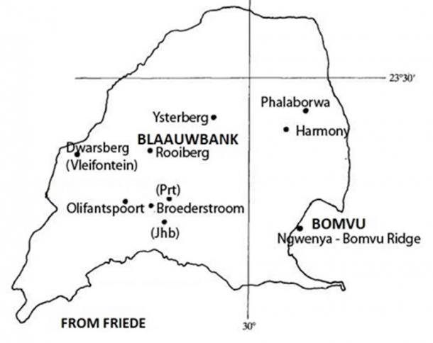 Sites of interest: Location of Blaauwbank in Limpopo province South Africa (Image: Author provided)