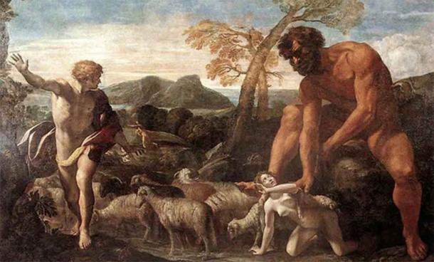 'Norandino and Lucina Discovered by the Ogre' (1624) by Giovanni Lanfranco. ( Public Domain)