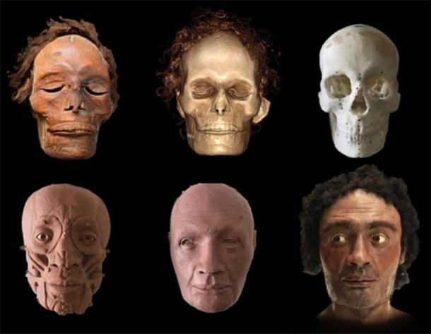 Facial reconstruction based on the computer images. (Image: Author Provided. Juan Villa / Story Producciones.)