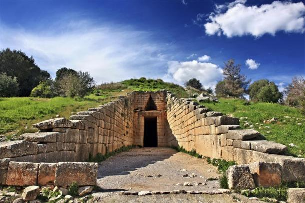 The famous entrance to the Treasury of Atreus. (Iraklis Milas / Adobe stock)