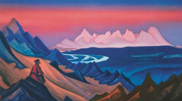 Song of Shambala by Nicholas Roerich, 1931 (Public Domain)