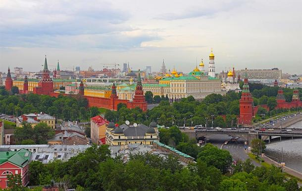 General view of the Borovitsky Hill where the Kremlin is located. (A.Savin / CC BY-SA 3.0)
