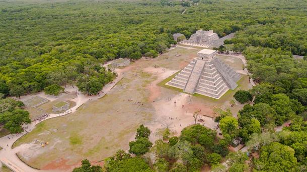 Aerial view of Chichen Itza, UNESCO World Heritage site. (Dronepicr / CC BY 3.0)