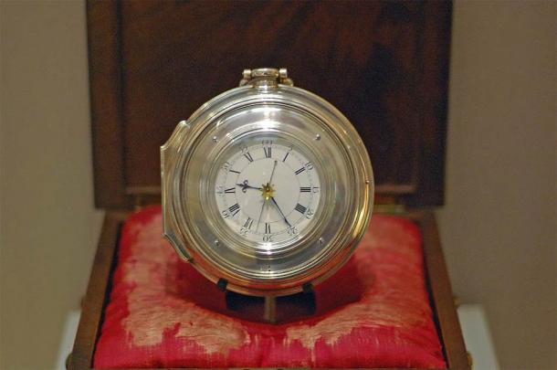 Harrison's Chronometer H5 of 1772, now on display at the Science Museum, London. (Racklever/CC BY SA 3.0)