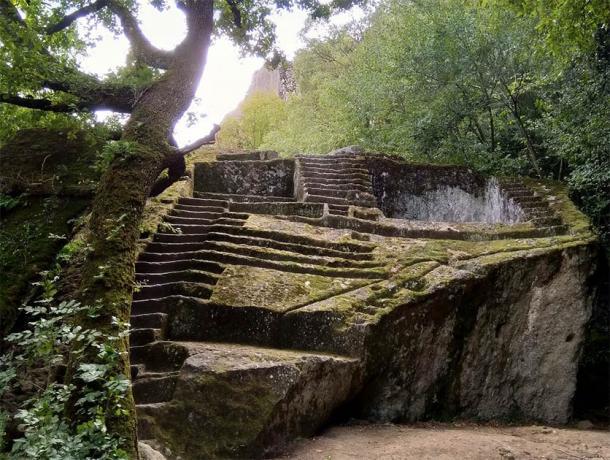 Piramide Etrusca di Bomarzo or the 'Etruscan Pyramid of Bomarzo.' (Alessio Pelligrini / Flickr)