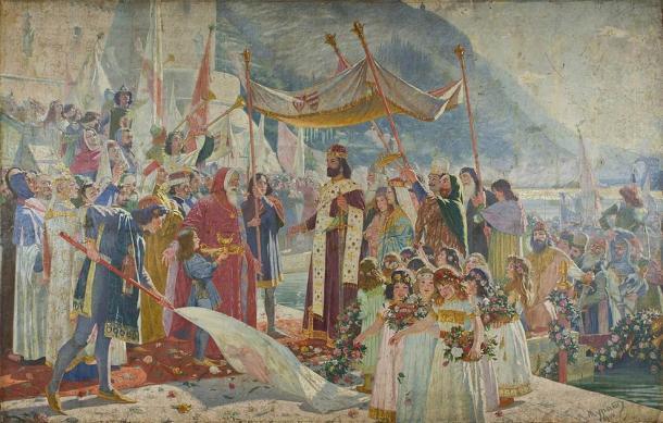 Dušan the Mighty proclaimed himself Tsar of the Serbian Empire. (Public domain)