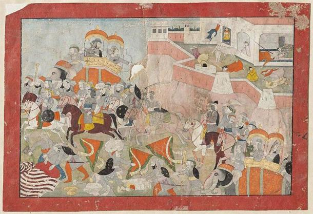 The women of the Chauhan royal family are said to have performed jauhar after the Siege of Ranthambore (1301) when the fort fell to the Sultan Ala ud din (Public domain)