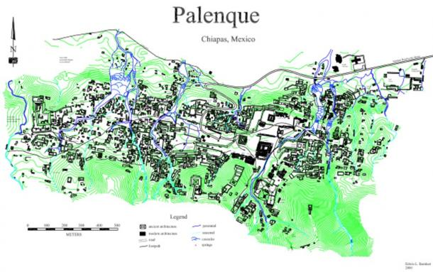 Palenque mapping project. (Dr. Edwin Barnhart /Maya Exploration Center)