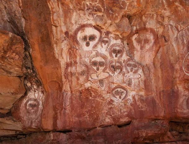Aboriginal rock art on the Barnett River, Mount Elizabeth Station. (Graeme Churchard / CC BY 2.0)