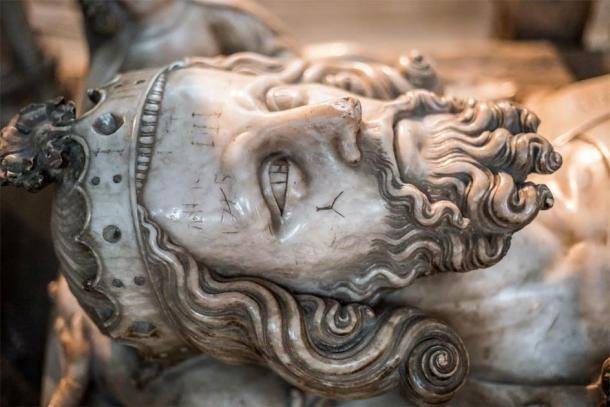 Effigy of King Edward II on his tomb at Gloucester Cathedral. Source: Matthew /Adobe Stock