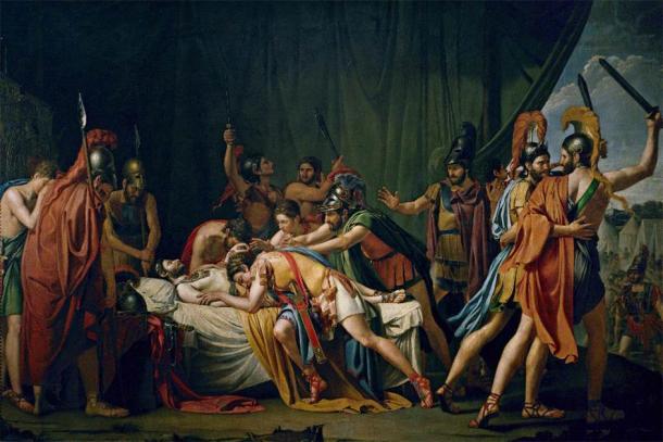 'La muerte de Viriathus, jefe de los lusitanos' de José de Madrazo. (Dominio público)