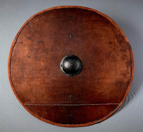 Thanks to their results, the research team was able to complete the first authentic Viking shield replica, seen here. It was made as part of a separate collaboration project between the Society for Combat Archaeology and Trelleborg Viking Fortress (part of the National Museum of Denmark). (Tom Jersø / The Viking Shield Project)
