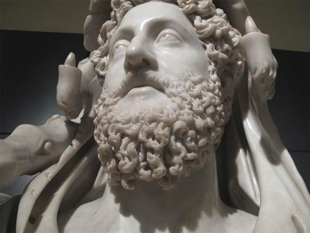 Bust of Roman emperor Commodus as Hercules. (CC BY-SA 2.0)